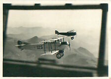 Airplane Plane Schweiz Switzerland Suisse Zeppelin Airship CARD IMAGE 30s