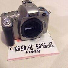 Nikon F55 SLR Corpo e le istruzioni