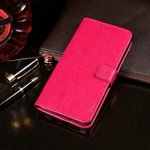 For Huawei Y9 2019 Luxury Shockproof PU Leather Wallet Card Flip Stand Case
