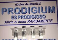 4 X Proodigium 4cc.Tubes Best TOOTHACHE LIQUID EVER. DOLOR DE MUELAS ORAJEL