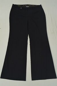 Express 8 Black Editor Flare Stretch Dress Pants
