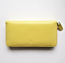 LUXURY SOFT GENUINE LEATHER BEYZACASES WALLET PURSE IN PRESENTATION BOX | YELLOW
