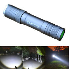 Waterproof CREE Q5 3 Modes LED Zoom Flashlight Torch Recharging Camping Light