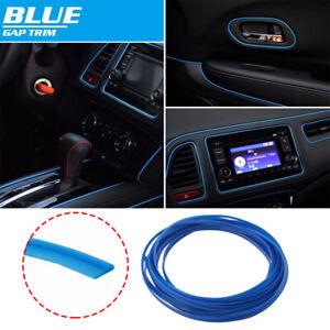 16ft Dark Blue Car Interior Door Dashboard Panel Edge Decora Strip Moulding Trim