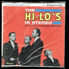VINYL LP The Hi-Lo's w/ The ... - The Hi-Lo's In Stereo New Factory Sealed
