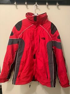 North Face Hyvent DL Summit Series Red Jacket