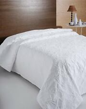 Bellissimo Florentina Couvre-lit 230 x 260 cm coton Polyester Blanc Double