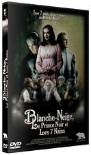 DVD : Blanche neige le prince noir et les 7 nains - NEUF