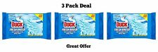 Duck Fresh Brush Refill Pads For Toilet 12 x 3 Pack Free P&P
