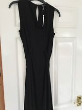 Asos Black Maternity Stretch Dress UK 6 New With Tags