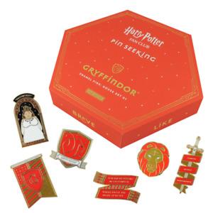 Harry Potter Fan Club Pin Seeking First Edition Gryffindor Enamel 6 Pin Set