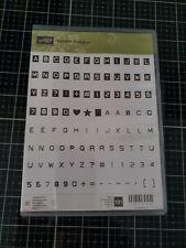 Stampin Up! Stempelset Labeler Alphabet