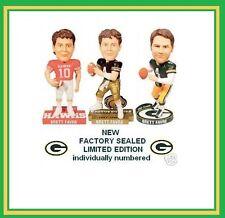 Brett Favre Bobblehead 3 Bobble Packers jersey High school southern miss USM NEW