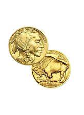 Lot of 2 Gold 2021 American buffalo 1 Troy oz Bullion $50 US Mint Coins