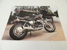 NOS 1983 CX650 Custom Honda Dealer Brochure L176