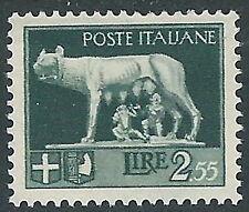 1929-42 REGNO LUPA 2,55 LIRE MH * - CZ36-3
