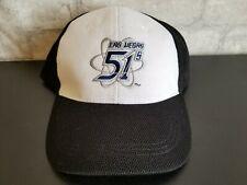 LAS VEGAS 51s Trucker Mesh Cap Hat EUC Black Blue White Silver Adjustable
