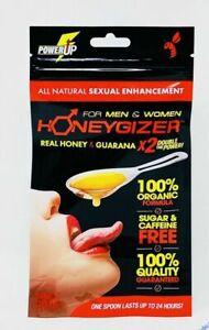 Honeygizer Spoon Real Honey Guarana X2 Power Male/female Enhancer Sachet