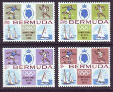 Bermuda 1968 SC 226-229 MH Set Mexico Olympics