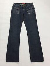 Liu jo jeans charly pants w27 41 gamba dritta dritti donna slim usati blu T1503