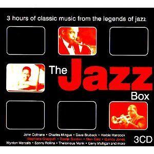Various Artists - The Jazz Box (2004 UK 34-track 3CD Box Set)