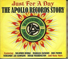 JUST FOR A DAY THE APOLLO RECORDS STORY - 3 CD BOX SET