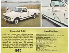 1970 Chevrolet C-20  Truck  Magnet
