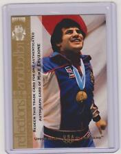1996 UD OLYMPIC CHAMPIONS MIKE ERUZIONE AUTO TRADE CARD ~ 1980 HOCKEY GOLD MEDAL
