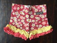 New Matilda Jane Size 12 Months Wonderful Parade French Fry Red Floral Shorties
