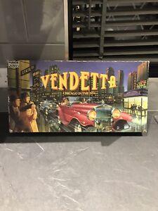 VENDETTA Chicago Mafia Board Game -