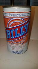 Vintage Billy Beer Forged Steel BO Pull Tab Beer Can