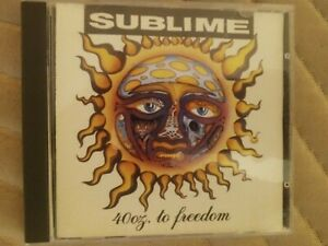 Sublime 40oz. to Freedom CD 1992 Skunk Records