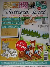TATTERED LACE MAGAZINE #36 (INCLUDES A FREE DIE) FOR CARDS & SCRAPBOOK IDEAS