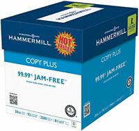 "Hammermill Copy Plus Mp Laser, Inkjet Printer Paper 8.5"" x 11"" 20 Pound."