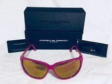 2f7340ab2b11 Authentic Porsche Design Women s Sunglasses P8588 D 6113 Fushia Pink BNIB