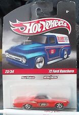 1972 Ford Ranchero Mr Gasket Hot Wheels Real Rides # 23/34 1/64 Scale Diecast