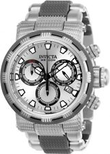 New Mens Invicta 23977 Capsule Chronograph Silver Dial Two Tone Bracelet Watch