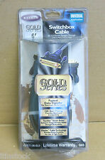 Belkin F3D11-06-GLD NEW Conductor Switch Box Cable 6 Foot DB25 Male to Male