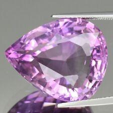 20.33 CT Amatista Natural Púrpura Claridad VVS Sin Calefacción origen Uruguay