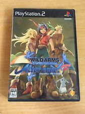FREE SHIPPING SONY  PS2 PLAYSTATION 2 JAPAN NTSC WILD ARMS ALTER CODE F