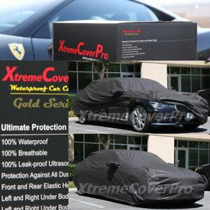 2016 2017 2018 2019 BMW 740I 750I WATERPROOF CAR COVER W/MIRROR POCKET BLACK