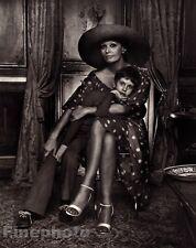 1981/83 Vintage 11x14 SOPHIA LOREN & Son EDUARDO Italy Film Actress YOUSUF KARSH