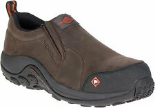 Merrell Men's J15793 Jungle Moc Composite Toe Slip On Safety Work Shoes--Special