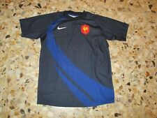 maillot shirt jersey trikot ancien EQUIPE DE FRANCE RUGBY 2007 FFR NIKE