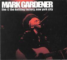 MARK GARDENER from RIDE Live @ The Knitting Factory, NYC RARE CD #0569 shoegaze