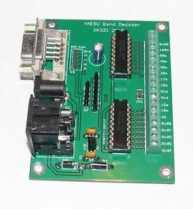 Automatic 16-outputs band decoder (YAESU,MK2R,Elecraft K3) fertig module
