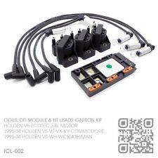 IGNITION COILS, DFI MODULE & LEADS V6 ECOTEC 3.8L [HOLDEN VS-VT-VX-VY COMMODORE]