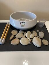 Conair Heated Stone Spa Therapy System Hot Rocks Body Benefit Warm Massage Hr10A