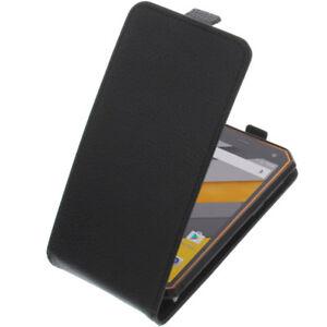 Tasche für Nomu S10 FlipStyle Handytasche Schutzhülle Flip Schwarz