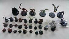 D&D & Pathfinder Lot of 34 Miniatures all different!